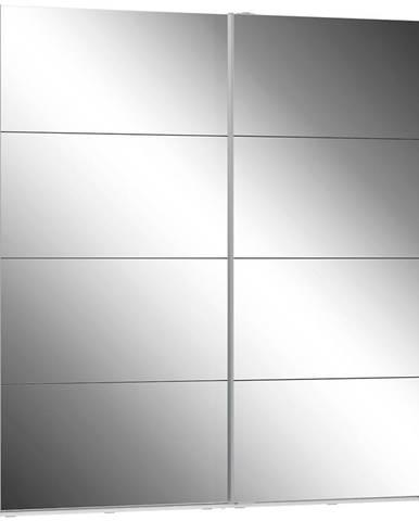 Skriňa Olivia 220 biela/zrkadlo 2D