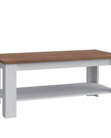 Konferenčný stolík Prowansja ST2 borovica andersen/dub lefkas