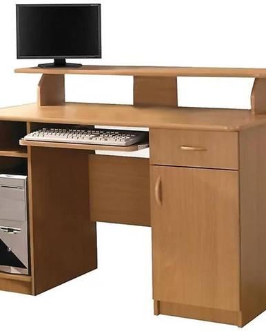 Písací stôl Max jelša