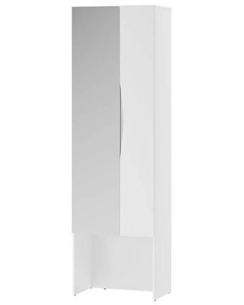 MERKURY MARKET skriňa so zrkadlom 08 LUCCA biela