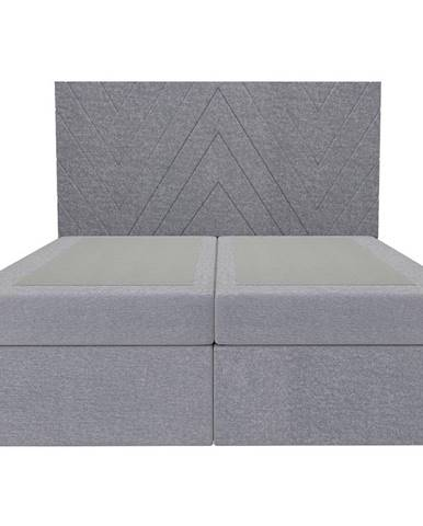 Posteľ Ariel 160x200 Monolith 84 bez vrchného matracu