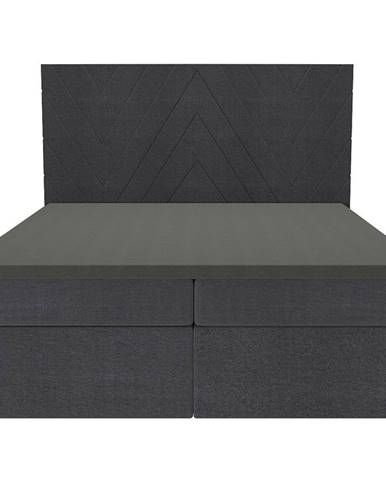 Posteľ Ariel 160x200 Monolith 97 s vrchným matracom