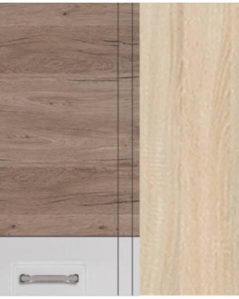MERKURY MARKET Skrinka do kuchyne Econo 44G Sonoma/Biely/San Remo