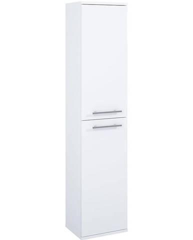 Vysoká skrinka do kúpeľne Vento 30 2D White