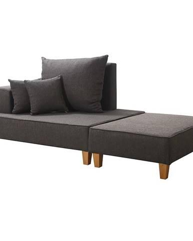 Sofa Daren L + taburetka Portland 95