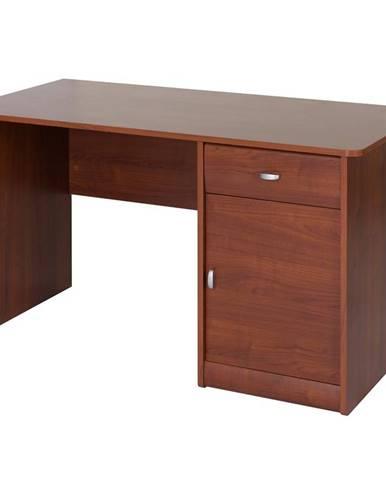 Písací stôl 1D1S Dover 40 čerešňa primavera