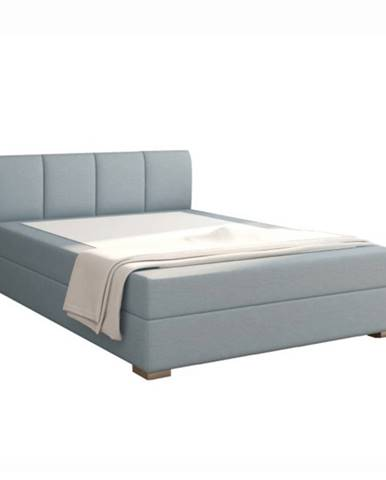 Boxpringová posteľ 140x200 mentolová RIANA KOMFORT