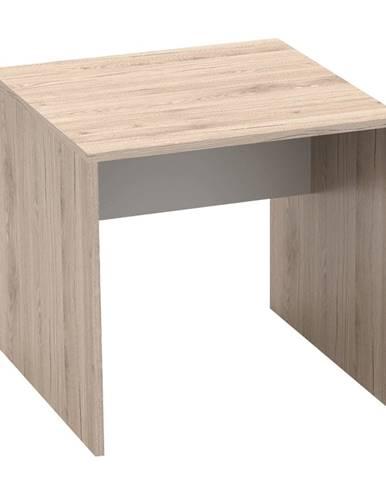 Písací stôl san remo/biela RIOMA TYP 17