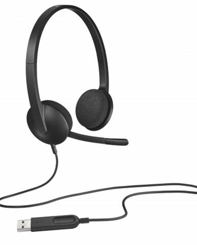 Slúchadlá s mikrofónom Logitech Corded H340
