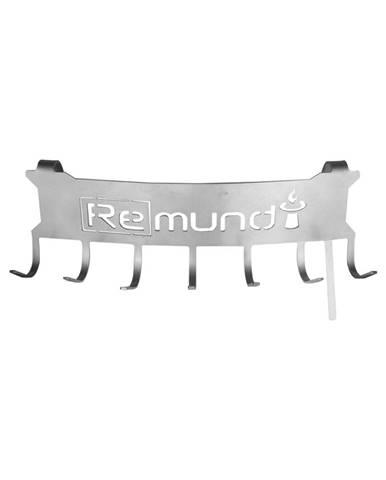Oceľová závesná lišta na grilovacie náčinie Remundi