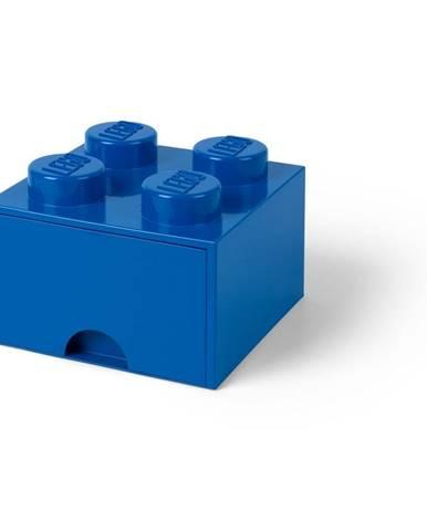 Modrý úložný box so zásuvkou LEGO®