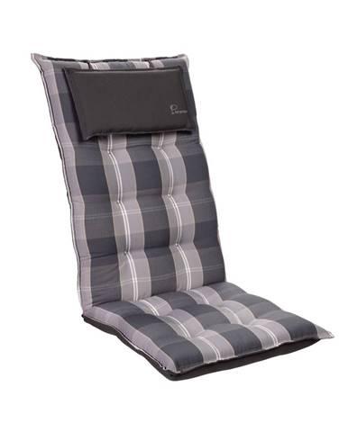 Blumfeldt Sylt, čalúnenie, čalúnenie na kreslo, vysoké operadlo, vankúš, polyester, 50x120x9cm
