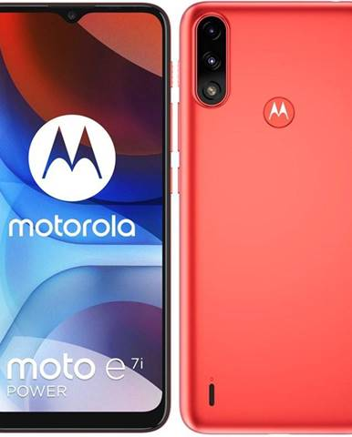 Mobilný telefón Motorola Moto E7i Power červený