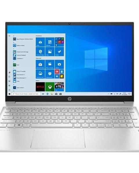 HP Notebook HP Pavilion 15-eh0004nc strieborný