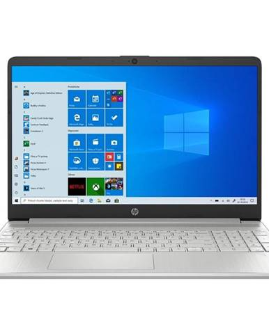 Notebook HP 15s-eq1617nc stříbrný + Microsoft 365 pro jednotlivce
