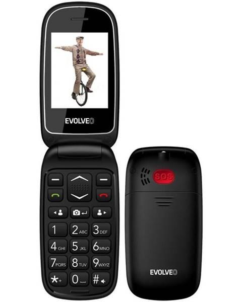 Evolveo Mobilný telefón Evolveo EasyPhone FD čierny