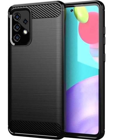 Kryt na mobil WG Carbon na Samsung Galaxy A52 LTE/5G čierny
