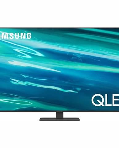 Televízor Samsung Qe55q80aa strieborn