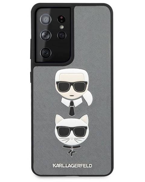 Karl Lagerfeld Kryt na mobil Karl Lagerfeld Saffiano K&C Heads na Samsung Galaxy