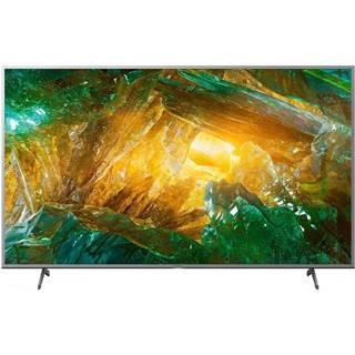 Televízor Sony KE-55XH8077 strieborn