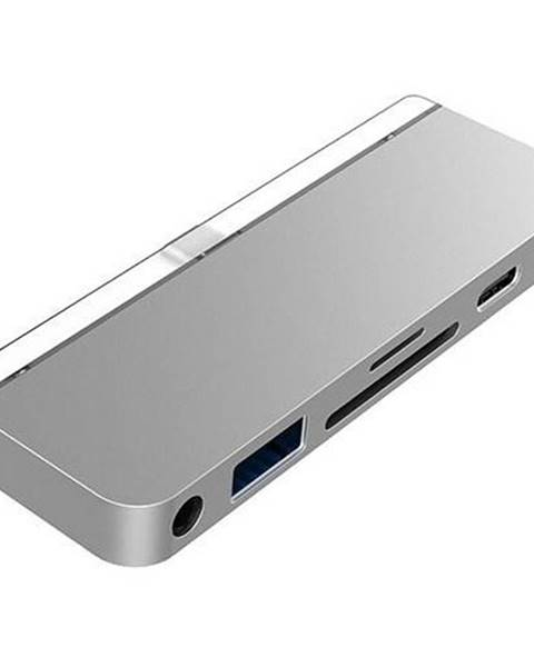 HyperDrive USB Hub HyperDrive 6-in-1 USB-C Hub pro iPad Pro strieborný