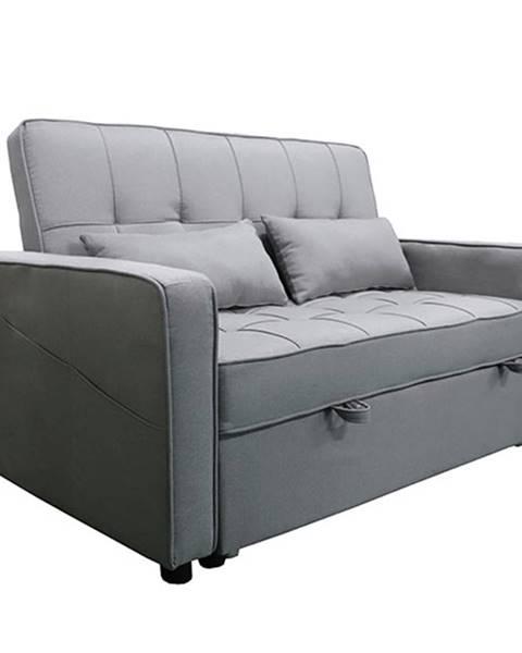 Tempo Kondela Rozkladacia pohovka sivá FRENKA BIG BED NEW