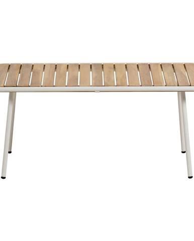 Záhradný konferenčný stolík s doskou z akáciového dreva La Forma Robyn