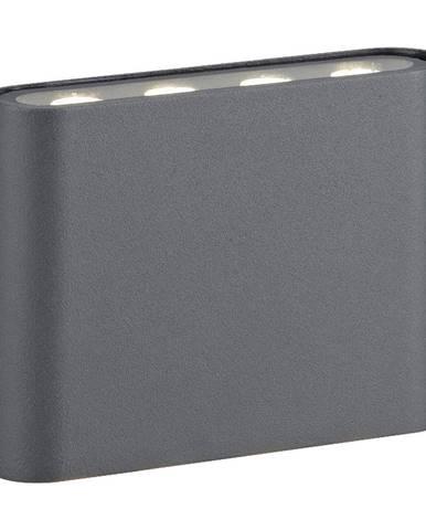 Sivé nástenné svietidlo Markslöjd Arion