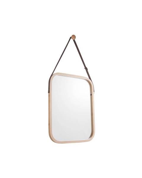 PT LIVING Nástenné zrkadlo v bambusovom ráme PT LIVING Idylic, dĺžka 40,5 cm