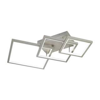 LED STROPNÁ LAMPA, 120/16,6/71,6 cm - niklová