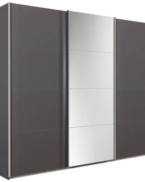 Xora Xora SKRIŇA S POSUVNÝMI DVERMI, sivá, 270/230/62 cm - sivá