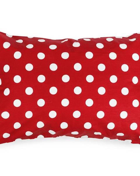 4Home 4Home Obliečka na vankúšik Červená bodka, 50 x 70 cm
