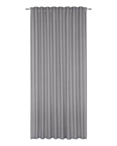 Hotový Záves Elisa, 135/255cm, Sivá