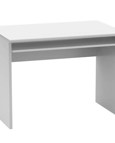 Písací stôl biela JOHAN 2 NEW 02