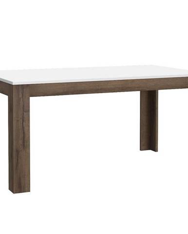 Stôl White Sea 160 dub šľachtený/biely lesk