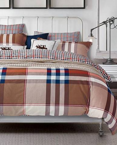 Bavlnená saténová posteľná bielizeň ALBS-0288B 200X220
