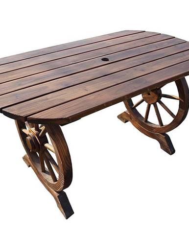 Devený stôl 120x65x68cm