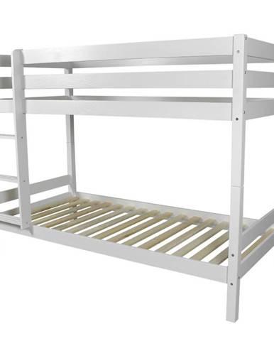 Poschodová posteľ Adara 190x90 biely