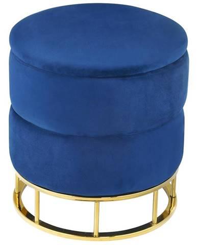 Taburetka Muz -207 modrá