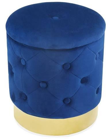 Taburetka Muz -209 L modrá