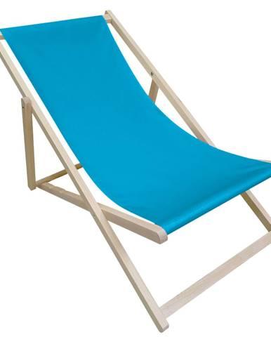 Zanzi plážové lehátko modrá