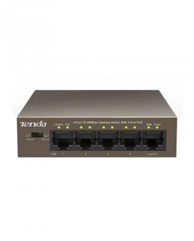 Switch Tenda TEF1105P-4-63W, PoE, 5-port