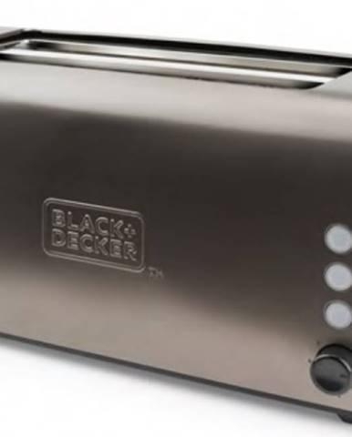 Hriankovač Black+Decker BXTO1500E, 1500W, nerez VADA VZHĽADU, ODR