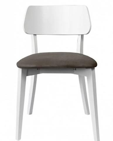 Jedálenská stolička Medal dub, cappuccino