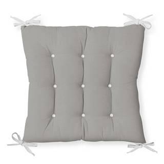 Sedák na stoličku Minimalist Cushion Covers Gray Seat, 40 x 40 cm