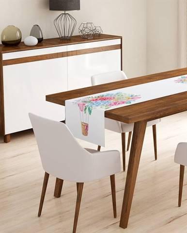 Behúň na stôl Minimalist Cushion Covers Colorful Flowers, 45 x 140 cm