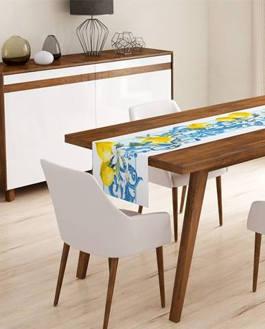 Behúň na stôl Minimalist Cushion Covers Yellow Lemon, 45 x 140 cm