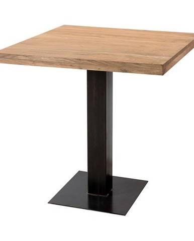 Jedálenský stôl GURU akácia/sivá