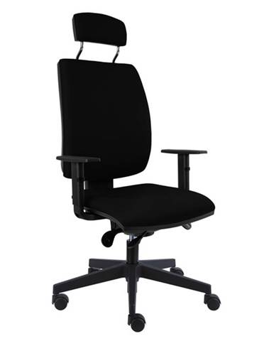 Kancelárska stolička CHARLES čierna