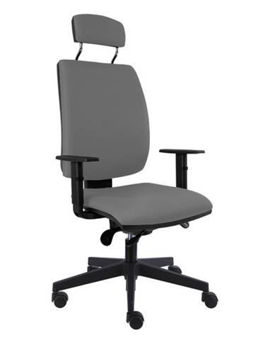 Kancelárska stolička CHARLES sivá